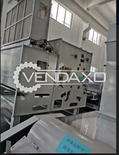 For Sale Used Non woven Fabric Production Line - Width - 3.8 Meter