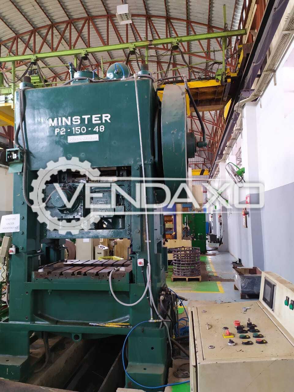 Minster P2-150 High Speed Stamping Press - 150 Ton