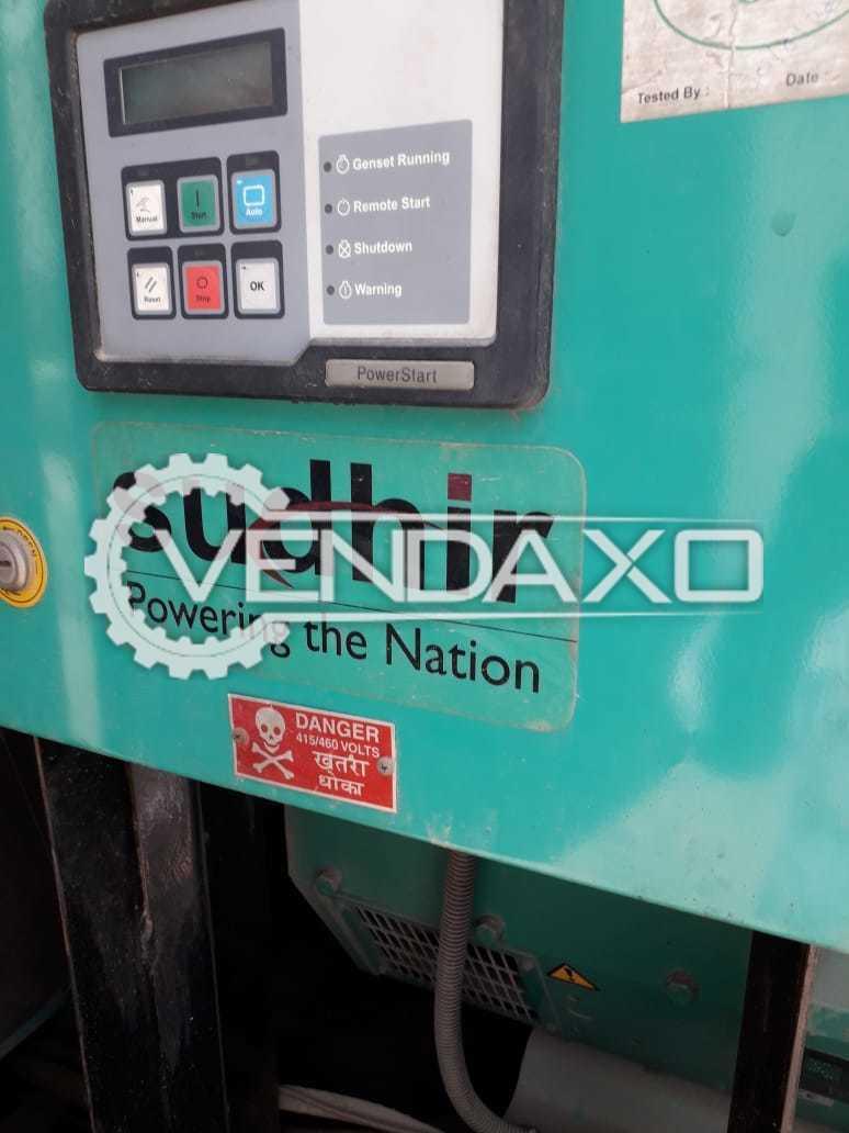 Cummins Sudhir Diesel Generator - 62.5 Kva, 2012 Model