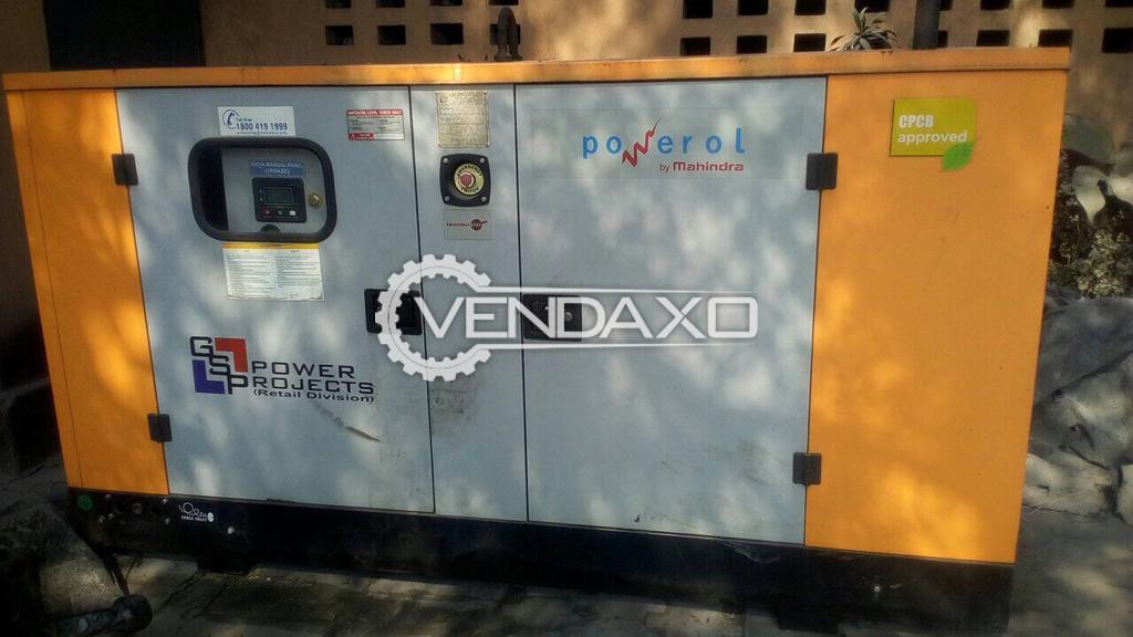 Mahindra Powerol Diesel Generator - 30 Kva