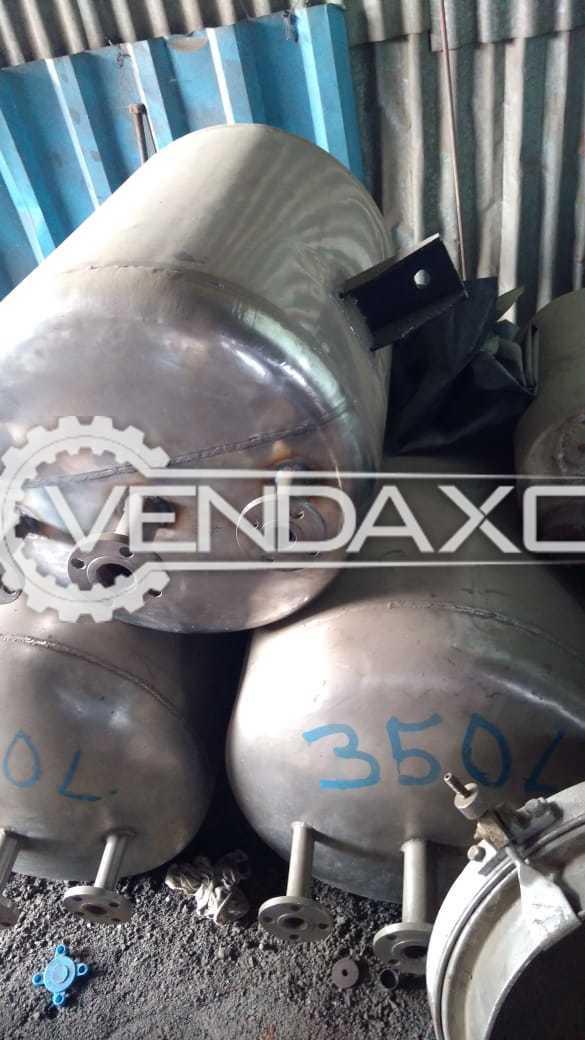 SS 316 Vacuum Receiver - 350 Liter