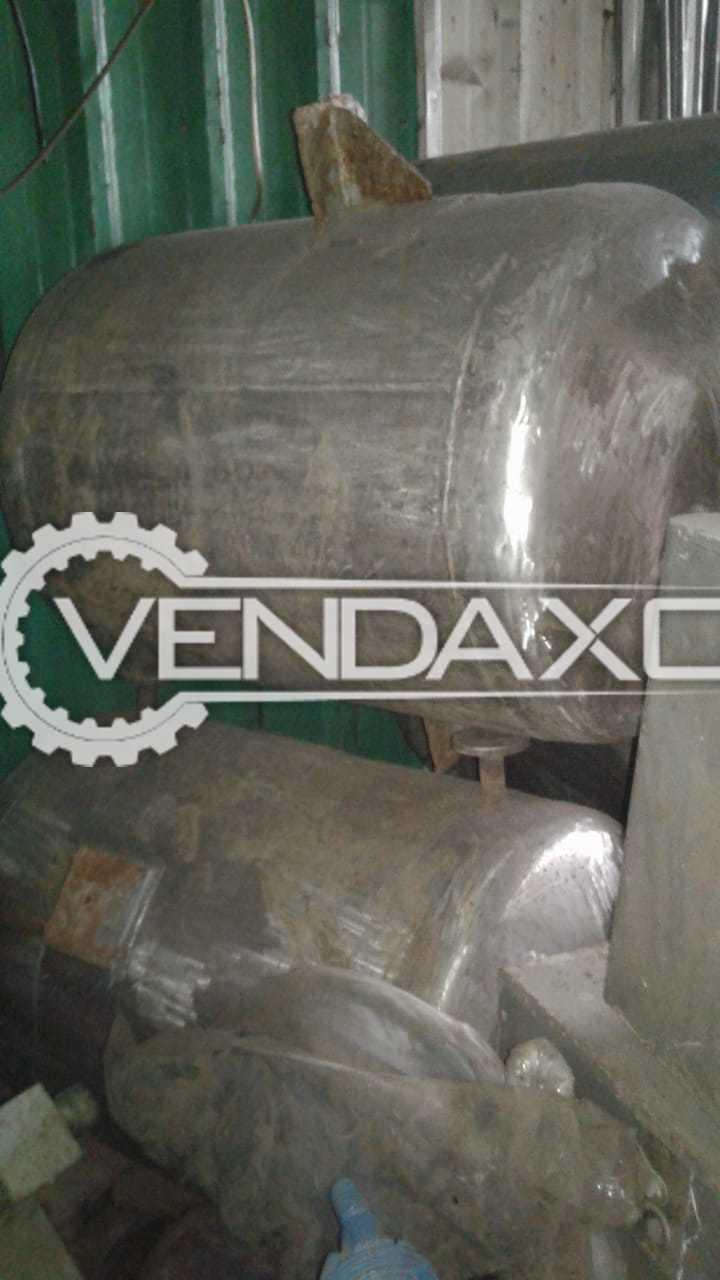 SS 316 Vacuum Receiver - 200 Liter