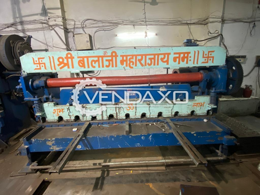 For Sale Used Numetic Shearing Machine - 6 mm