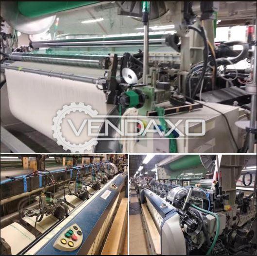 Picanol Airjet Omni Plus 800 / Summum Loom Machine - Width - 190 to 400 cm