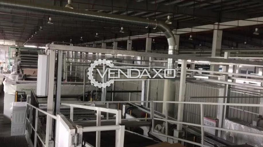 For Sale Used Agnati Paper Production Line - Width - 2.5 Meter