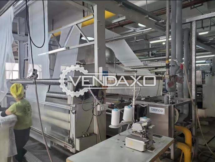 Bianco Open Width Washing Machine for Knit Fabrics - Width - 240 CM
