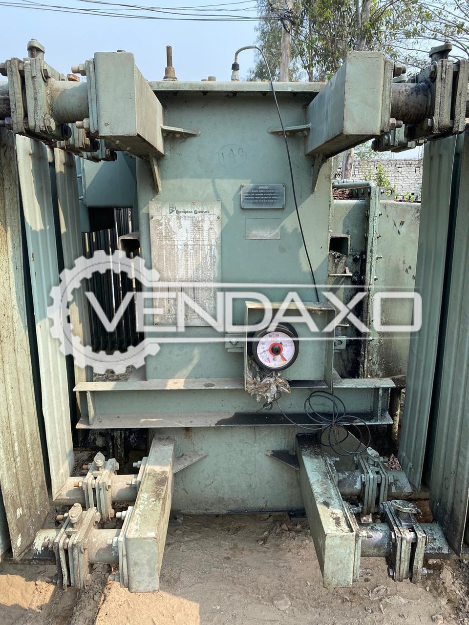 Crompton Greaves Transformer - 1600 Kva