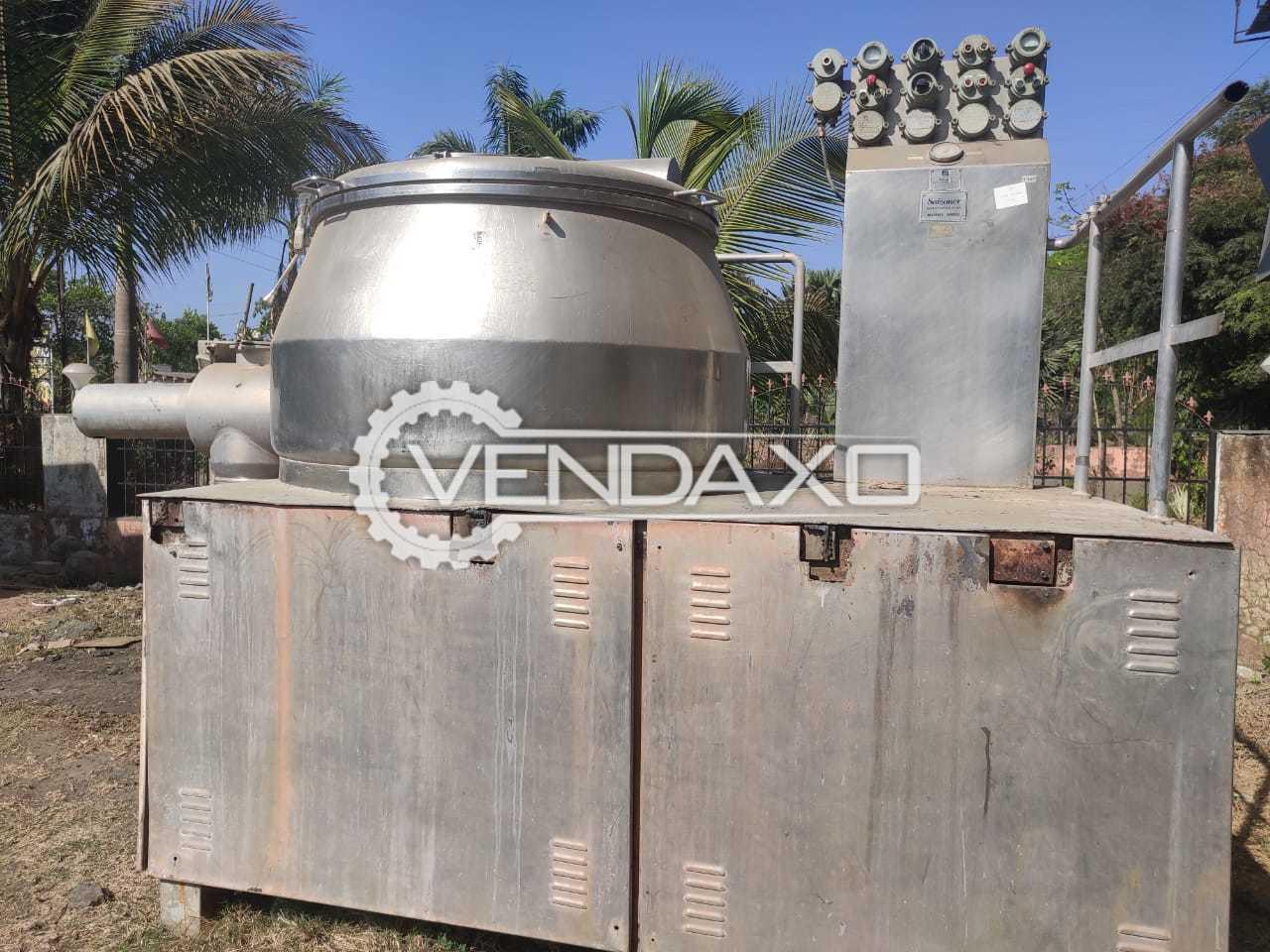 Saizoner Rapid Mixing Granulation (RMG) - 1000 Liter