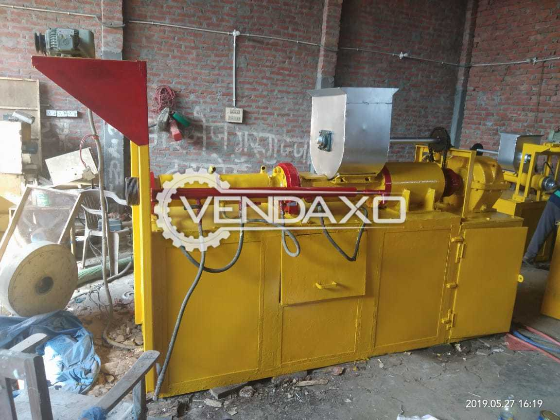For Sale Used Complete Macaroni Machine - 150 Kg Per Hour With 5 Motors and 4 Dyers