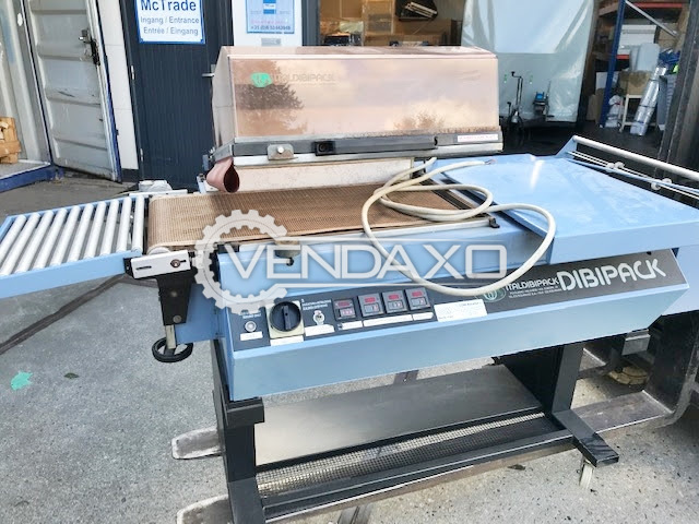 Dibipack 4255 Packing and Shrink Wrapping Machine - 320 x 500 mm