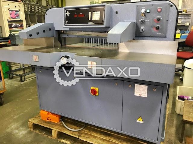 Mandelli 76 HYS Paper Cutter Machine - 76 x 76 cm