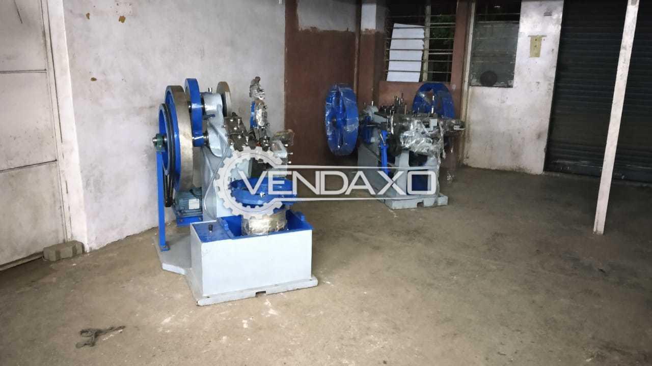 For Sale Used Screw Heading & Threading Machine - 2.5 HP