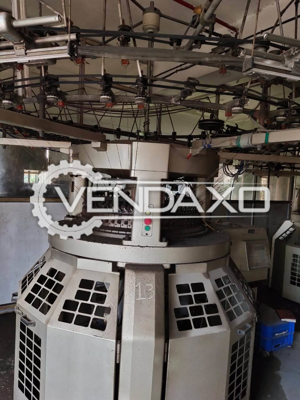 Unitex UDX-1.8RB Circular Knitting Machine - 18 Inch