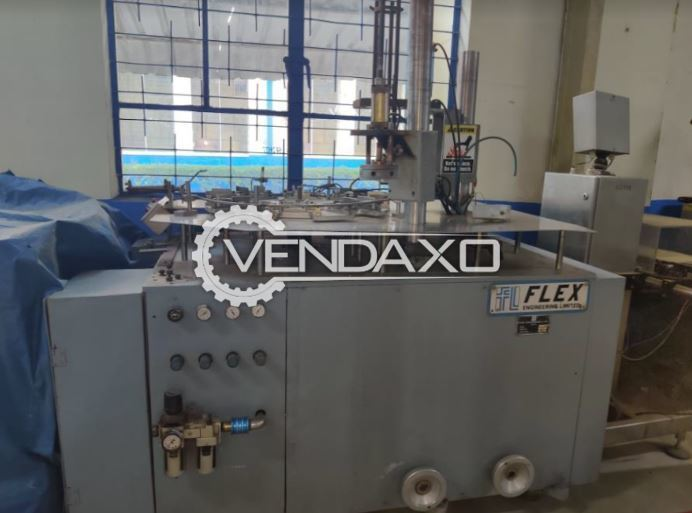 Flex Engineering C-F-TA-C Pet Jar Packing Machine - 100 to 500 GM