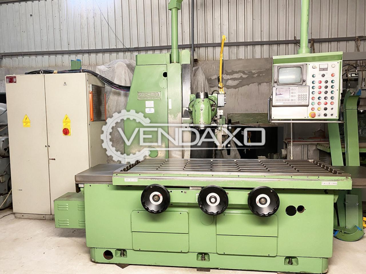 Sachman Bed Milling Machine - Table Size - 2000 mm x 730 mm
