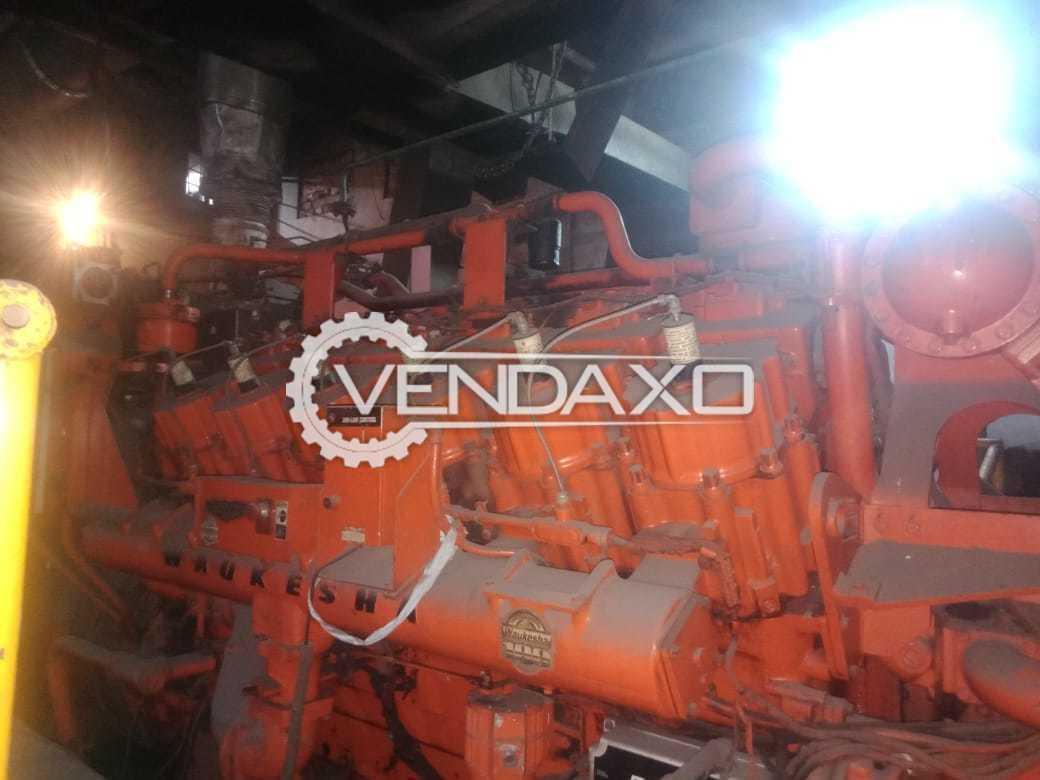 Waukesha VHP5904LTD ESM GAS Generator - 1125 Kva