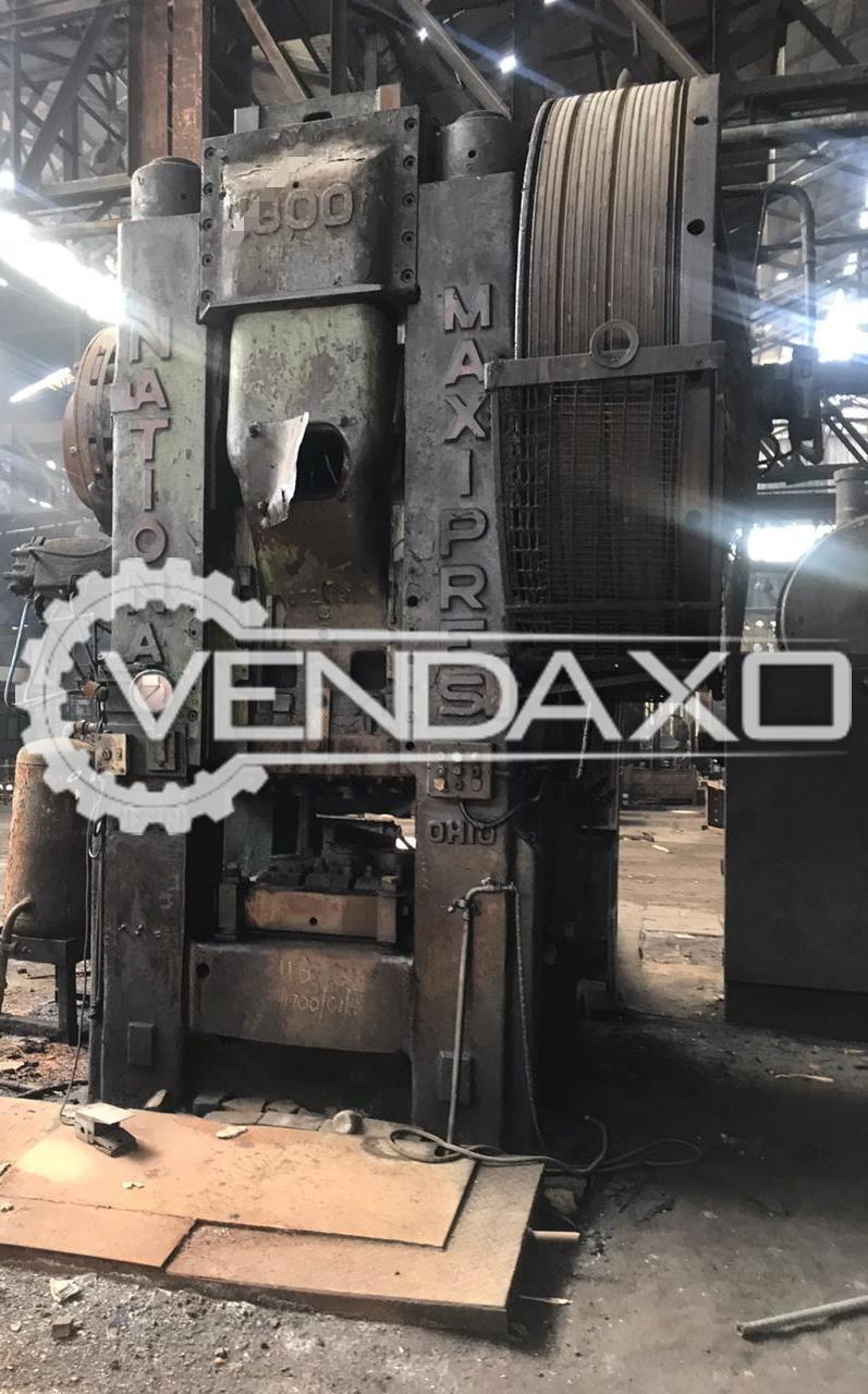National Maxipress 800 Hot Forging Press - 800 Ton