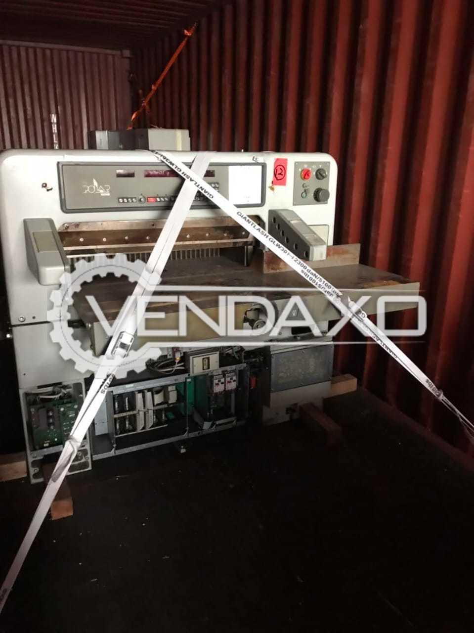 Polar Mohr 92 E Paper Cutting Machine - Size - 36 Inch