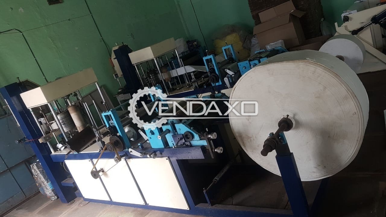 For Sale Used Tissue Paper Machine - 10 x 10 Inch
