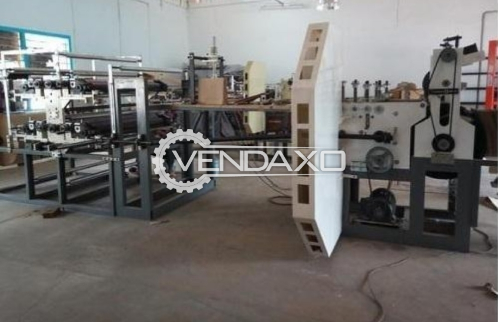 SAS Paper Bag Packaging Machine - Fully Automatic
