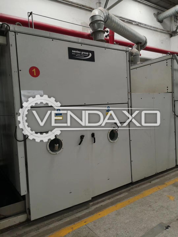 Santex Open Width Drying/Softening Machine - Width - 200 CM