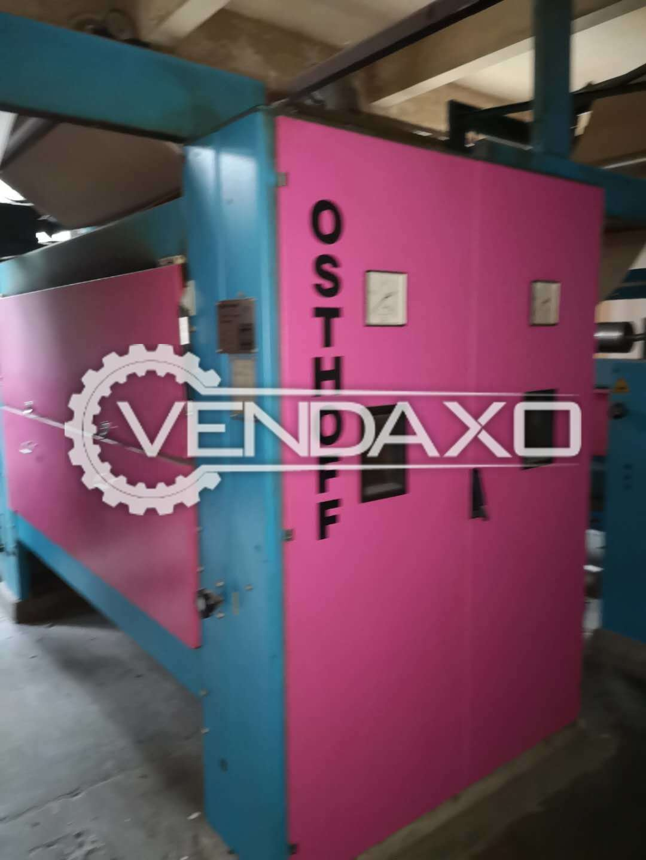 Osthoff Singeing Machine - Width - 200 CM