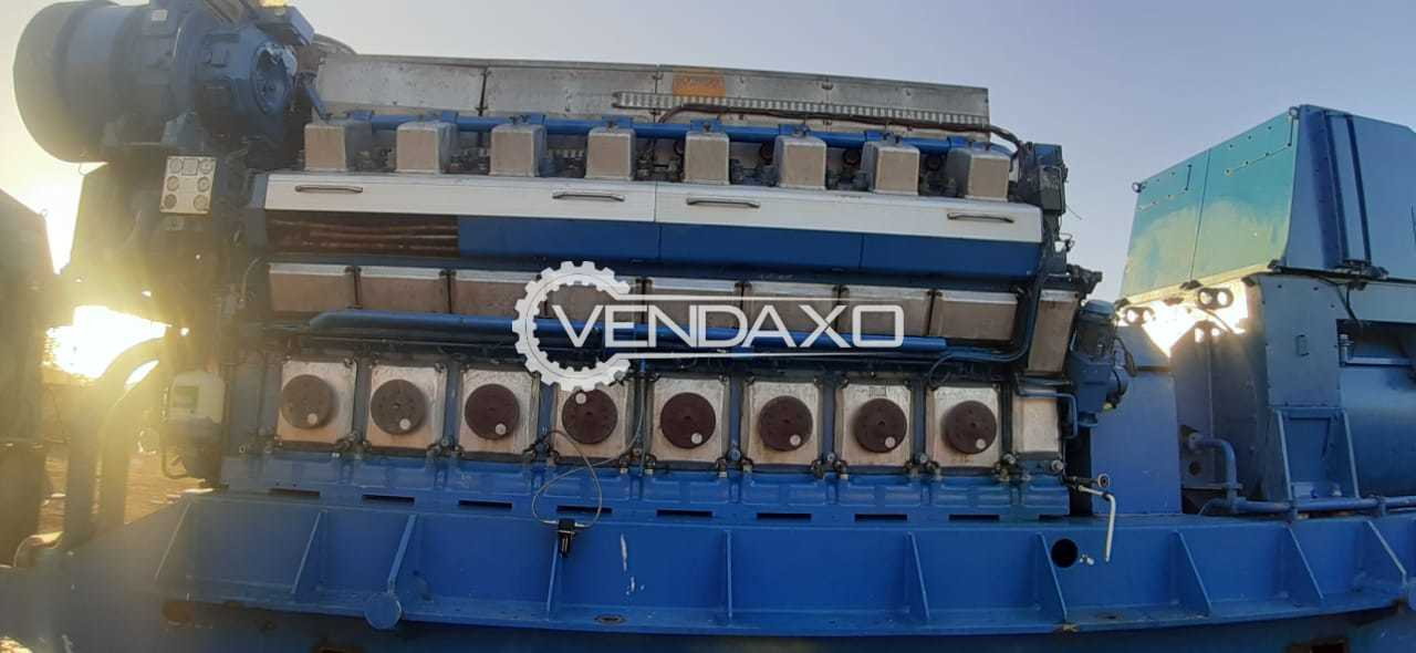 For Sale Used 5 Set OF Wartsila-Finland 16V32 LN Complete Generator Engine - 6495 KW
