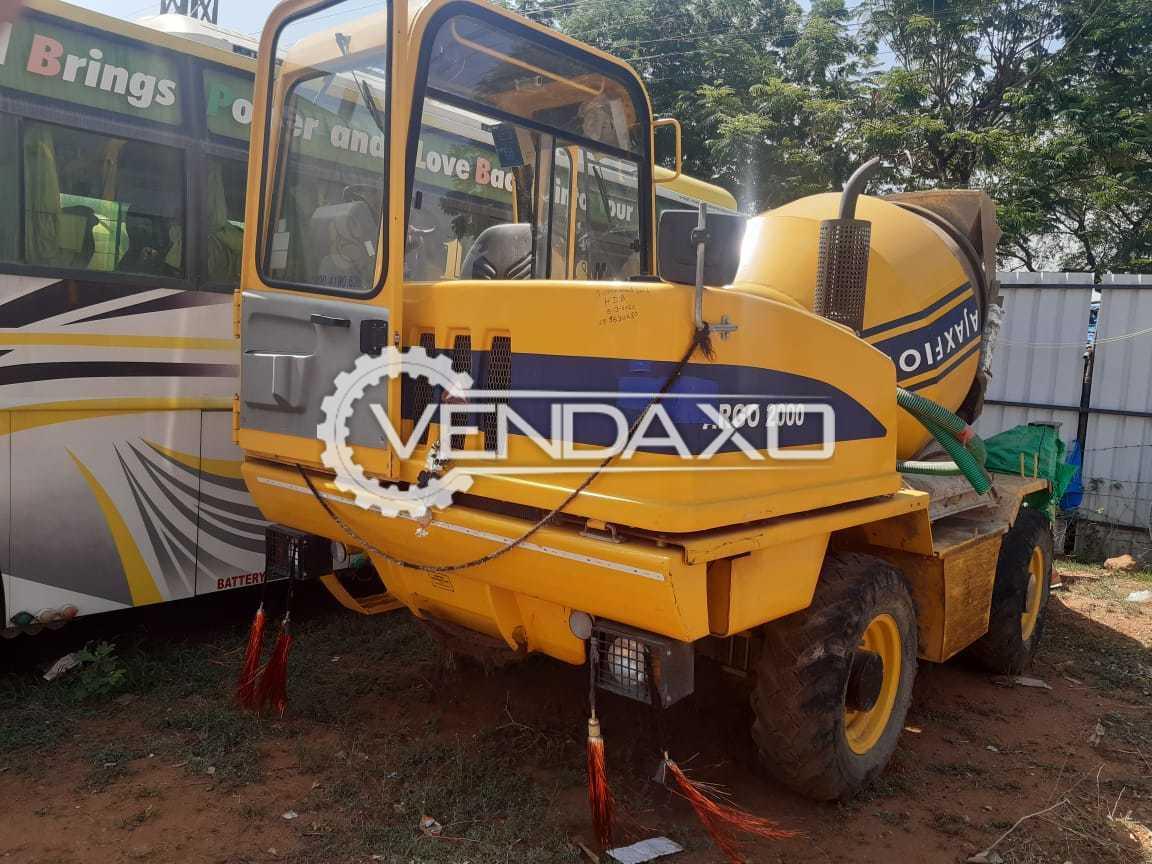 Ajax Flori 2000 Concrete Mixer - 280 Liter
