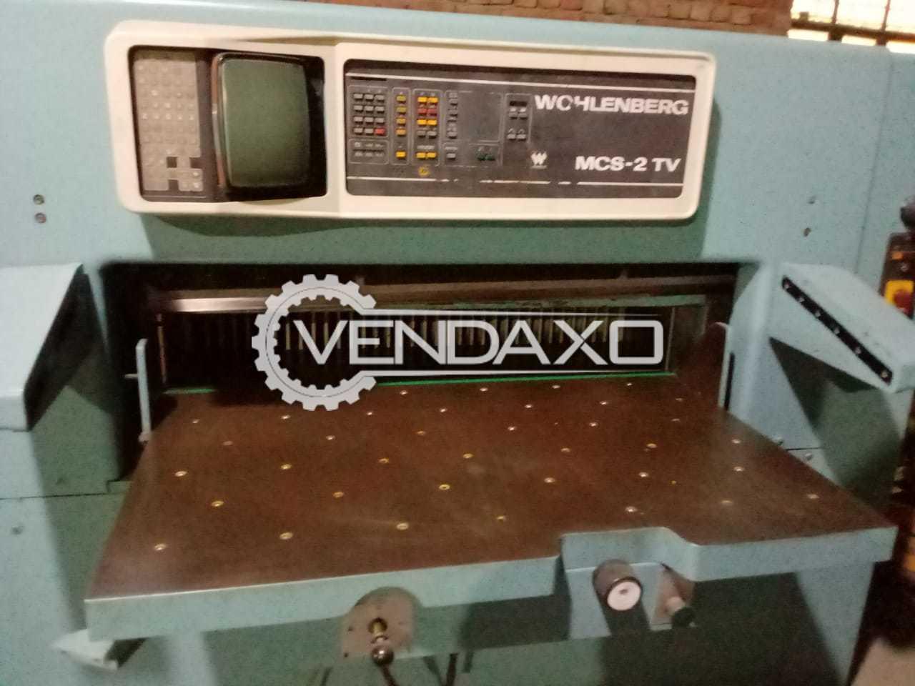 Wohlenberg MCS-2 TV Paper Cutting Machine - 45 Inch