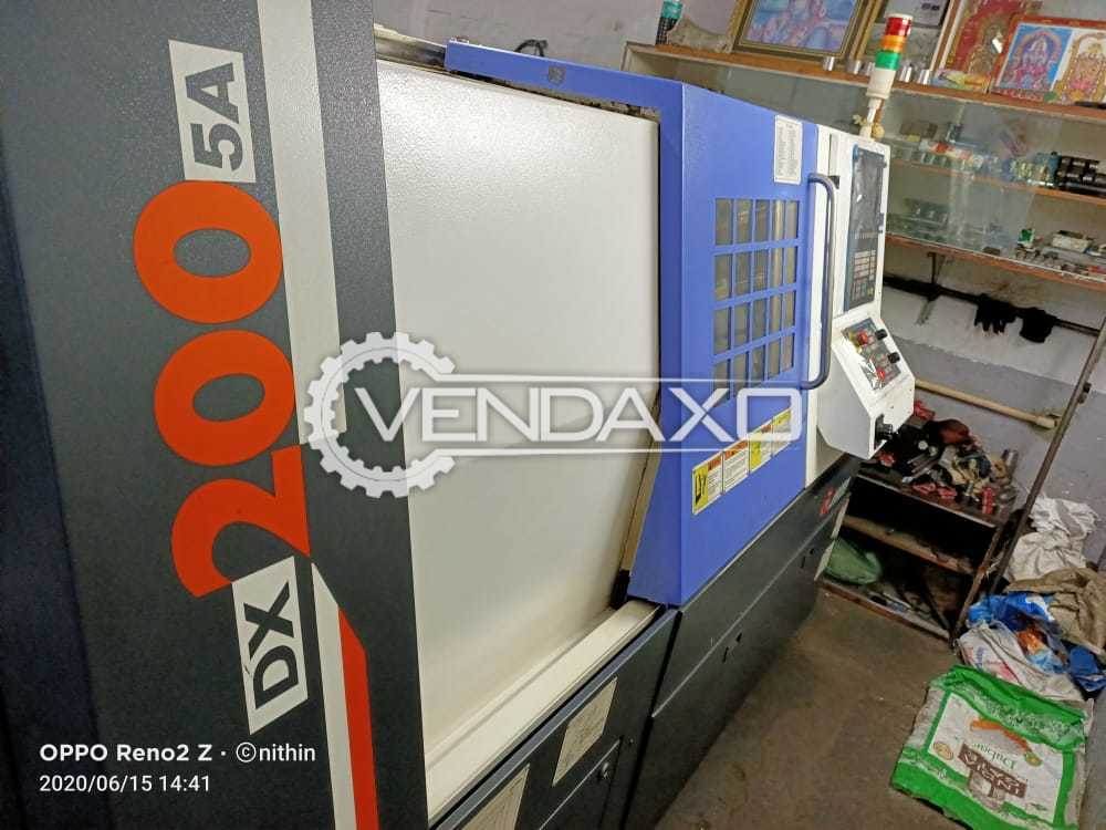 Jyoti DX-20075A CNC Turning Center - Turning Length - 500 mm