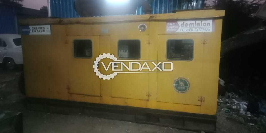 Crompton Greaves Diesel Generator - 250 Kva, 2010 Model