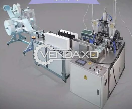 For Sale Used Fully Automatic Disposable Mask Machine - 70 to 80 pcs/min