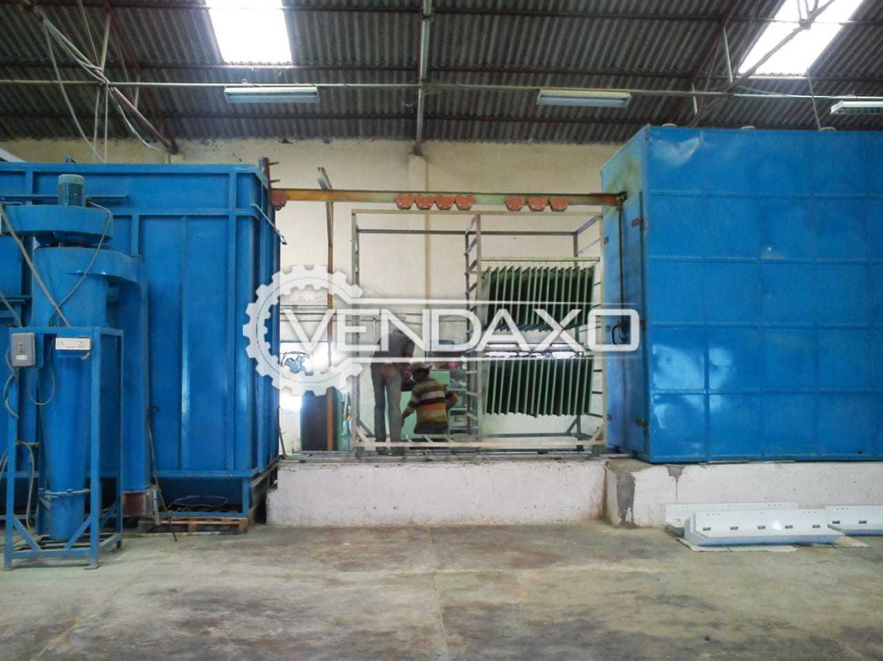 For Sale Used Gallant IVISTA Powder Coating Plant - 2013 Model