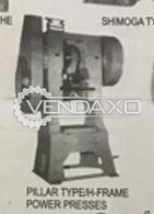 Rajkamal Make Pillar Power Press Machine -  H Type