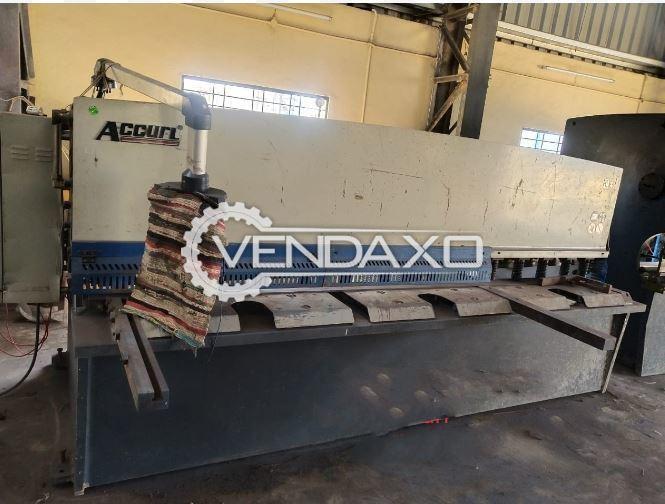 Accurl Hydraulic Shearing Machine - 3200 x 6 mm