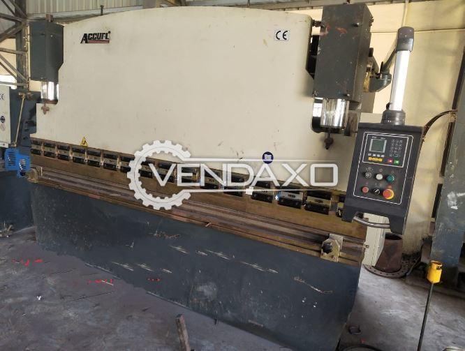 Accurl Hydraulic Press Brake Machine - 125 Ton x 3200 mm