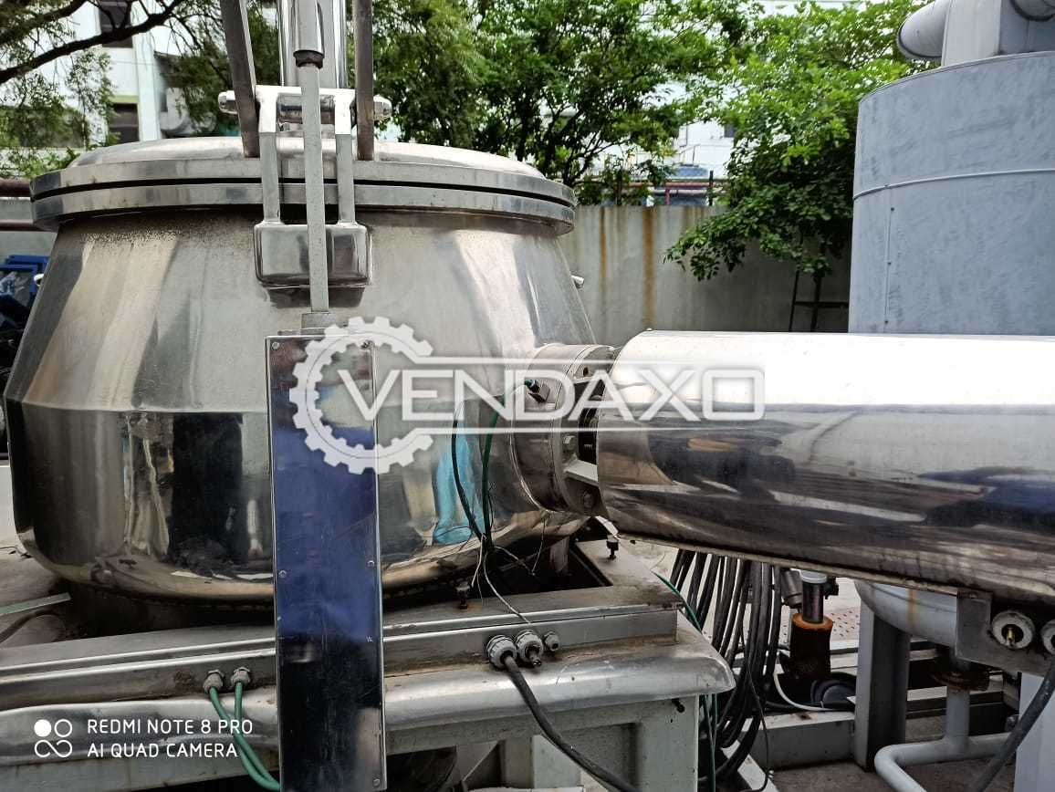 Rapid Mixing Granulation (RMG) - 400 Liter