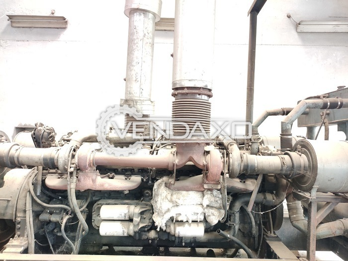 3 Set OF Detroit Open Diesel Generator - 1000 Kva