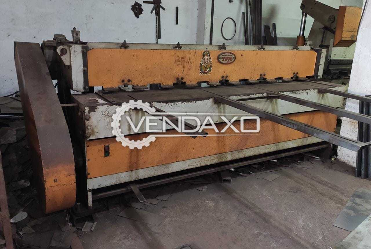 For Sale Used Mechanical Shearing Machine - 2.5 Meter x 4 mm