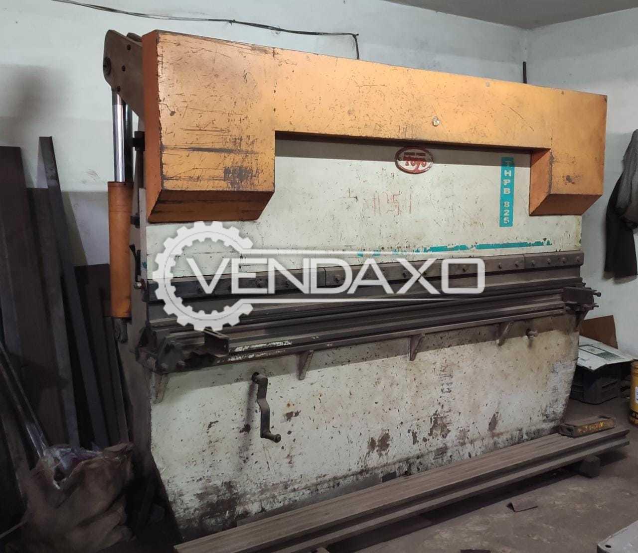 For Sale Used Press Brake Machine - 80 Ton x 4 mm