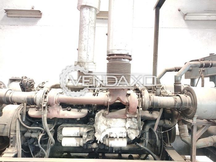 For Sale Used Leroy Somer 24V71 Generator Engine - 1500 RPM