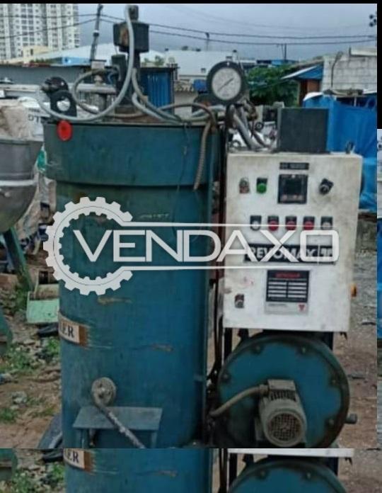 Revomax RXA-02/744 Diesel Fire Steam Boiler - 200 KG