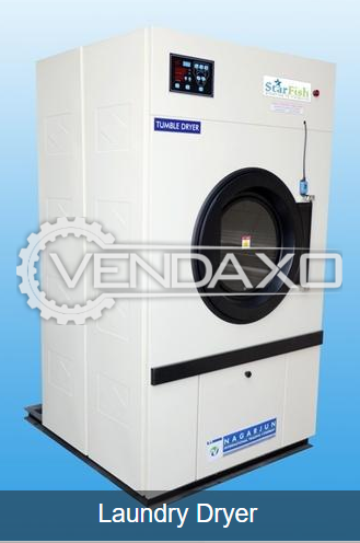 Star Make Commercial Washing Extractor, Tumbler- Laundry Dryer and Vacuum Iron Table Machine - 2019 Model