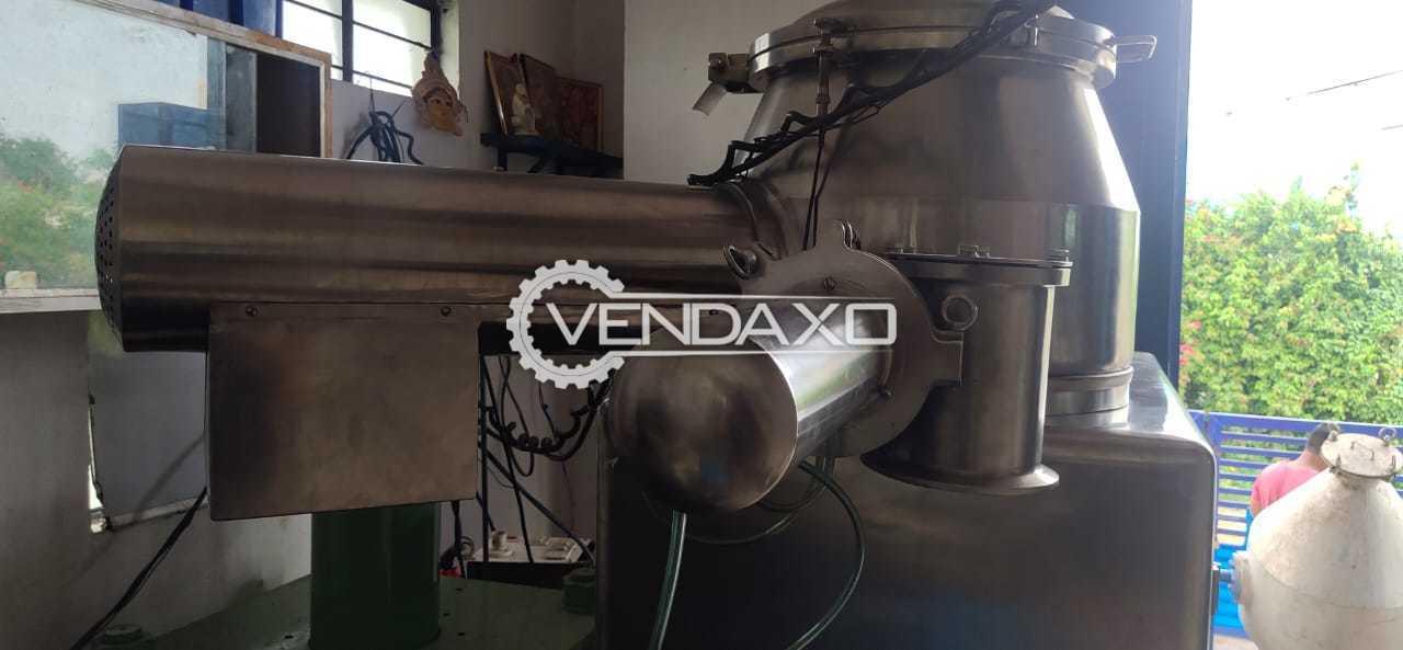 Anchor Mark Rapid Mixing Granulation (RMG) - 75 Liter