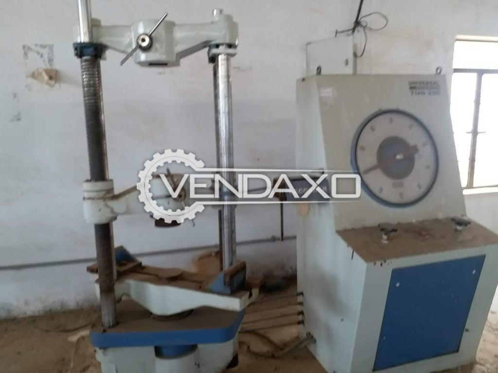 For Sale Used Universal Testing Machine (UTM) - 20 Ton
