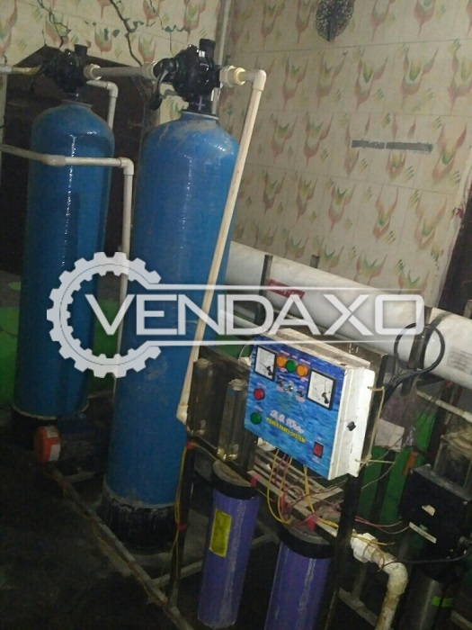 For Sale Used RO Plant - 2000 Liter With Chiller & Tank