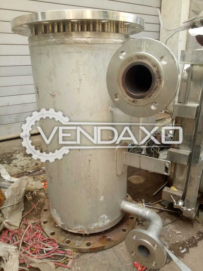 For Sale Used SS 316 Condenser - 276 Tube