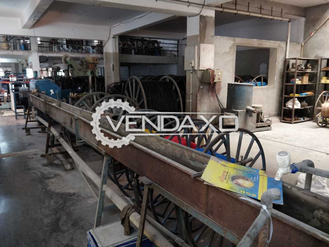 For Sale Used Cable Extrusion Manufacturing Machine - 45 to 65 mm
