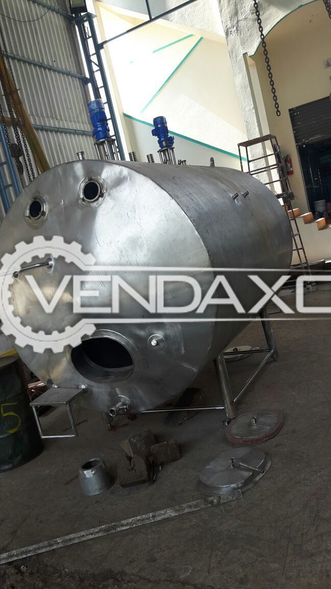 Milk Silo Puff Insulation Storage Tank - 16 KL
