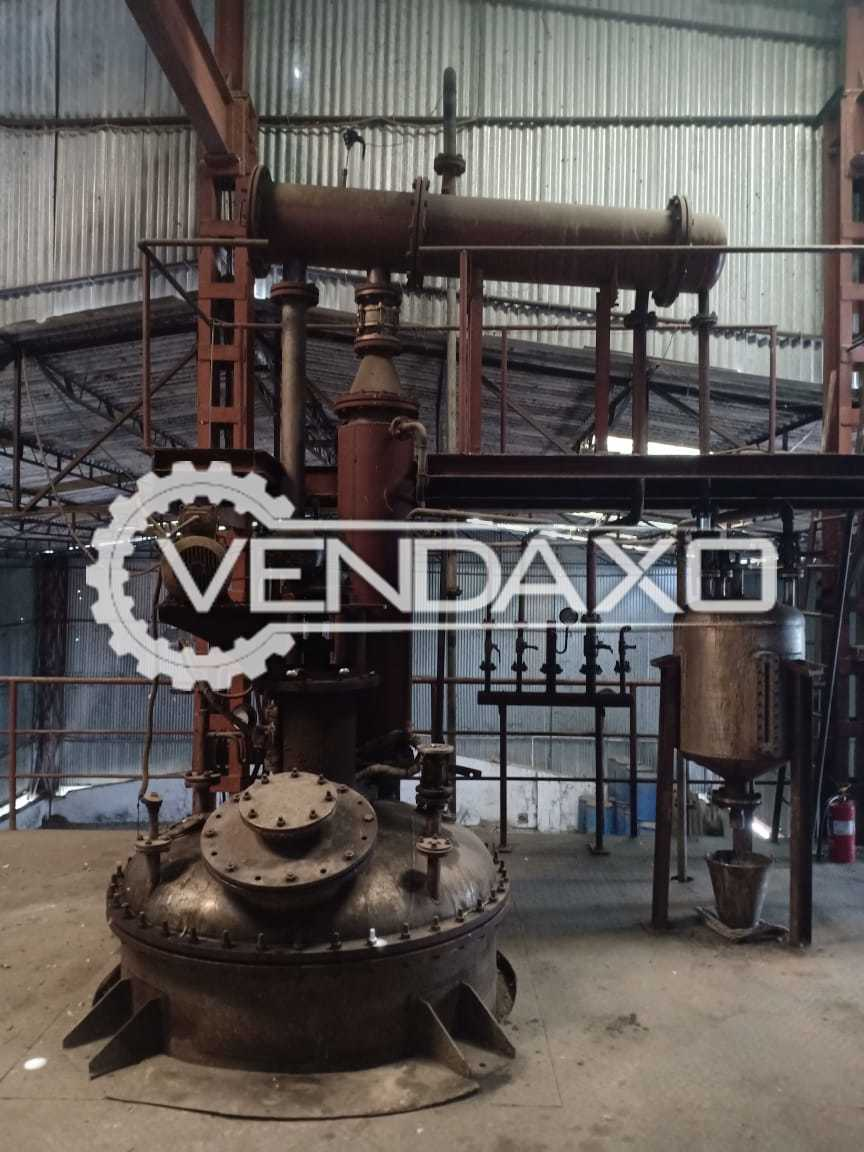 For Sale Complete Production Line For Unsaturated Polyester Resin Plant - 150 to 200 MT